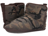 Bedroom Athletics Hoffman Brown Check Camo Men's Slippers