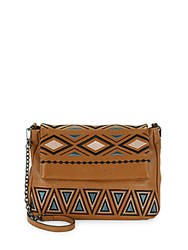 Aimee Kestenberg Nevada Leather Shoulder Bag Chestnut
