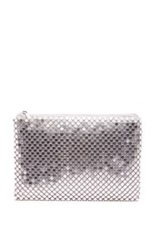 Forever 21 Small Chainmail Clutch Pink Multi