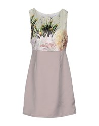 Anonyme Designers Dresses Short Dresses Women Dove Grey