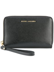 Marc Jacobs Two Tone Wallet Black