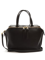Loewe Zip Around Leather Bag Black