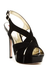 Elaine Turner Designs Chris Platform Sandal Black
