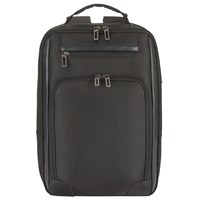 John Lewis Expanding 15 Laptop Backpack Black