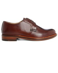 Estime Brown Km8 Classic Leather Derbies