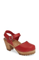 Mia Women's Abba Sandal Red