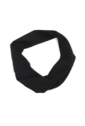 Forever 21 Crepe Wire Headwrap Black