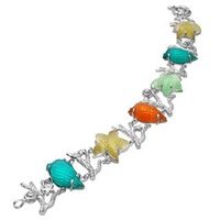 Tagliamonte Marina Collection Multicolor 18K Gold Bracelet