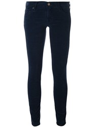 7 For All Mankind Super Skinny Trousers Blue