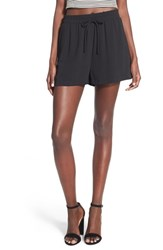 Women's Lush Drawstring Shorts Black