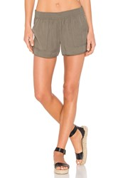 Joie Beso Sandwashed Shorts Green