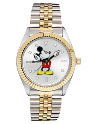 Disney Mickey Mouse Golden Years Memories Watch Mixedmetal