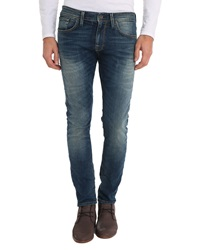 Selected Blue Two Row 1349 Slim Fit Jeans
