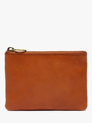Madewell Leather Pouch English Saddle