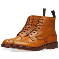 Tricker's Stow Brogue Derby Boot Brown