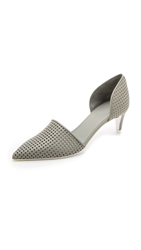 Vince Aurelian 2 D'orsay Pumps Heather Steel