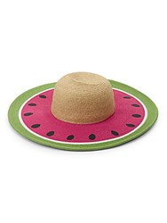 San Diego Hat Company Fruity Brim Sun Watermelon