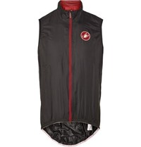 Castelli Velo Ripstop Zipped Cycling Vest Black