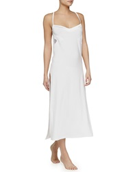 La Perla Serenade Embroidered Long Gown White