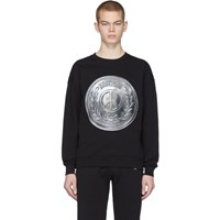 Moschino Black Coin Sweatshirt