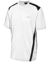 Greg Norman For Tasso Elba Men's Attack Life Performance Shirt Only At Macy's Bright White