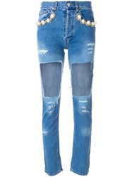 Forte Couture Big Hole Jeans Unavailable