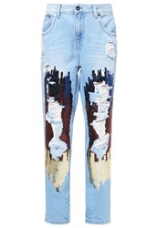 Pepe Jeans Mermaid Relaxed Fit Denim Destroyed Denim