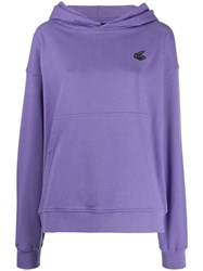 Vivienne Westwood Anglomania Hooded Sweatshirt Purple