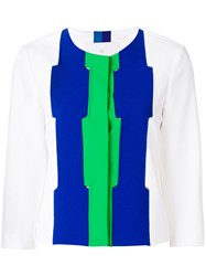 Capucci Colour Block Jacket White