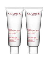 Clarins Limited Edition Hand And Nail Double Edition Set A 60 Value
