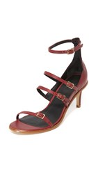 Tibi Isabel Sandals Plum