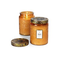 Voluspa Japonica Limited Edition Glass Candle Baltic Amber Large