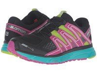 Salomon X Mission 3 Cs Black Teal Blue F Deep Dalhia Women's Shoes