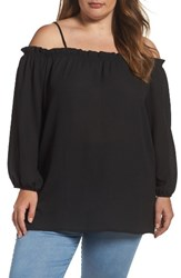 Glamorous Plus Size Women's Off The Shoulder Top