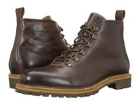 Massimo Matteo Alpine Boot Bordo Men's Lace Up Boots Burgundy