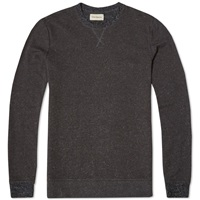 Oliver Spencer Cali Crew Knit Charcoal