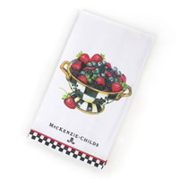 Mackenzie Childs Berry Breakfast Dish Towel