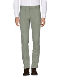 M.Grifoni Denim Casual Pants Military Green
