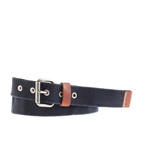 J.Crew Web Belt Manor Blue
