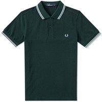 Fred Perry Slim Fit Twin Tipped Polo Neutrals