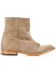 Golden Goose Deluxe Brand Ankle Boots Neutrals