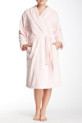 Casual Moments Needle Out Wrap With Set In Belt Pink