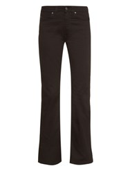 Acne Studios Lita High Waisted Flared Denim Jeans
