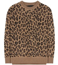 Alexander Wang Wool And Cashmere Sweater Brown