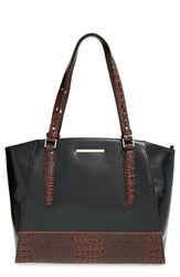 Brahmin 'Paris' Croc Embossed Leather Tote