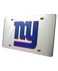 Rico Industries New York Giants Laser Tag License Plate Silver