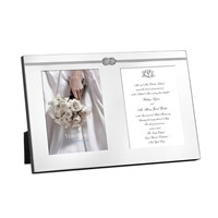 Vera Wang Wedgwood Infinity Double Invitation Frame