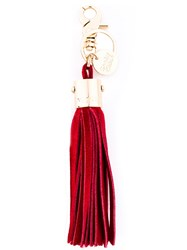 See By Chloe Tassel Keyring Red