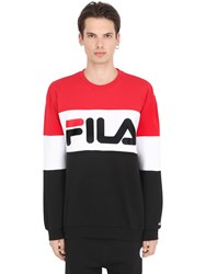 Fila Urban Color Block Cotton Blend Sweatshirt