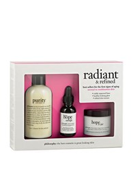 Philosophy Radiant And Refined Kit For Normal Combo Skin No Color